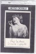 Nicole Croisille - Autographs