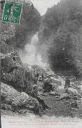 09)  CASCADE De  PEYRALADE - Vallée Du RIBEROT Prés Les Eaux Minérale De  PONTAUT  D'  AYER  (  Arrt. De  SAINT GIRONS ) - Autres Communes