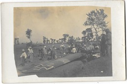 BATAILLE DE MONASTIR 1917 Carte Photo Avion Allemand Abattu à Kissovos - Macédoine