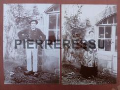 PORNIC TYPES COSTUMES  PHOTO 17 X 11 - Plaatsen