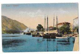 KOTOR CATTARO (Montenegro) Vue Du Port Bateaux - Montenegro