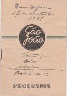 Program ::: Portugal ::: São João ::: 1937 - Programmes