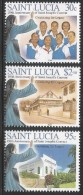2005 St. Lucia Convent School Complete Set Of 3  MNH - St.Lucia (1979-...)