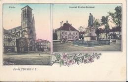 PHALSBOURG - PFALZBURG - Kirche - Général Mouton Denkmal - Phalsbourg