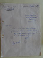 Jemmapes  Belgique Mr Andre Bouny Fils Proprietaire 1952 - Vestiario & Tessile