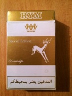 "Paquet De Cigarettes Vide ( Gazelle Du Sahara)-""RYM"". Special Edition-50 Ans. - Contenitori Di Tabacco (vuoti)"