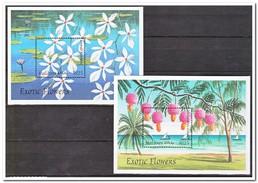 Maldiven 1997, Postfris MNH, Flowers, Trees - Maldiven (1965-...)