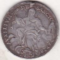 VATICAN STATO PONTIFICIO, ½ SCUDO 1778 Année IV. PIES VI. ARGENT. KM# 1214 - Vatican