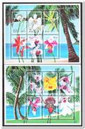 Maldiven 2000, Postfris MNH, Flowers, Orchids, Trees - Maldiven (1965-...)