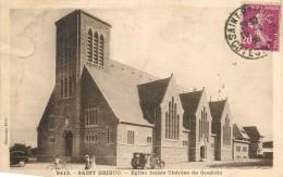 Cpa, St Brieuc, Eglise Ste Therese De Gouedic - Saint-Brieuc