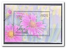 Maldiven 2002, Postfris MNH, Flowers - Maldiven (1965-...)