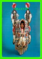 INDIENS - CHEYENNE-STYLE CRADLEBOARD SCULTURE BY THOMAS M. DOMIANI - - Indiens De L'Amerique Du Nord