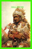 INDIENS - OLD INDIAN CHEF - VIEUX CHEF INDIEN -  PHOTO FRANKLIN AGENCY - - Indiens De L'Amerique Du Nord