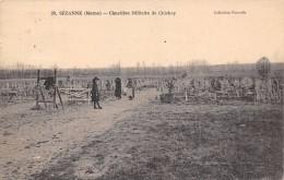 Sézanne    51     Cimetière Militaire De Chichey - Sezanne