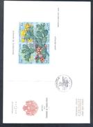 Monaco 1992 Card: Flora Flowers Blume; Cactus Kaktus Figuier De Barbarie (Opuntia Ficus-indica) Over Seasons Of The Year - Cactusses