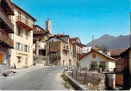 06 - LA BOLLINE VALDEBLORE : Entrée Du Village ( Epicerie En 1er Plan ) CPSM GF - Alpes Maritimes - Autres Communes