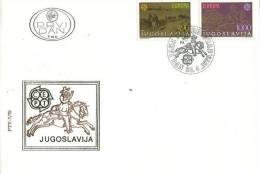 YUGOSLAVIA  1979 EUROPA CEPT FDC - Europa-CEPT