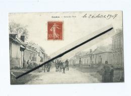 CPA  - Candas  -  Grande Rue - France