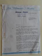 """Saintes Charente Maritime """"Les Vetements Martin """" Mr Adrien Pelet 1952 - Textile & Clothing"""