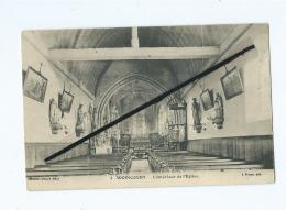 CPA  -   Woincourt  -  L'Interieur De L'église - Other Municipalities