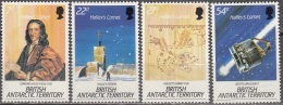 British Antarctic Territory 1986 Michel 132 - 135 Neuf ** Cote (2005) 10.40 Euro Passage De La Comète D'Halley - Territoire Antarctique Britannique  (BAT)