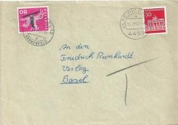 Taxierter Brief  Alte Piccardie - Basel              1967 - Schweiz