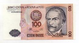 Perù - 1987 - Banconota Da 100 INTIS - Nuova -  (FDC1735) - Perú