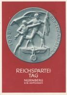 Propagandakarte: Reichsparteitag 1938 - Ganzsache - Deutschland