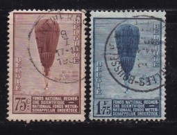 BELGIUM, 1932, Used Stamp(s), Baloons, MI 344=345  #10305,2 Values Only - Belgium