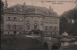 CPA AVESNES LE SEC - Le Château De M. Déjardin - Façade Postérieure - N° 4873 - France