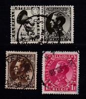 BELGIUM, 1934, Used Stamp(s), Leopold III,  MI 393-395,  #10309, Complete - 1934-1935 Leopold III