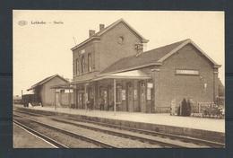 +++ CPA - LEBBEKE - Statie - Station - Gare - P.I.B.  // - Lebbeke