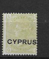 1880 MH Cyprus - Cyprus (...-1960)