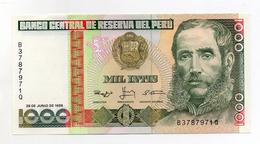 Perù - 1988 - Banconota Da 1000 INTIS - Nuova -  (FDC1737) - Pérou