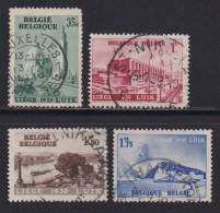 BELGIUM, 1938, Used Stamp(s), Water Exposition,  MI 482-485,  #10320,  Complete - 1936-1951 Poortman