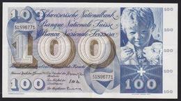 Billet De Banque Suisse 100 Francs, Saint-Martin - Suisse