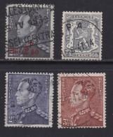 BELGIUM, 1940, Used Stamp(s), Leopold III,  MI 497+566-568,  #10324,  4 Values Only - 1936-1951 Poortman