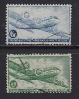 BELGIUM, 1946, Used Stamp(s),  Aeroplane,   MI 751=754,  #10342, 2 Values Only - 1936-1951 Poortman