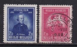 BELGIUM, 1947, Used Stamp(s), Special Stamps,   MI 790=792,  #10344, 2 Values Only - 1936-1951 Poortman