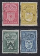 BELGIUM, 1948, Used Stamp(s), TBC,   MI 798=802,  #10345, 4 Values Only - 1936-1951 Poortman