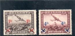BELGIQUE 1935 * - Airmail