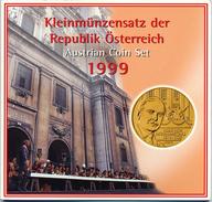 AUSTRIA AUTRICHE ÖSTERREICH OFFICIAL SCHILLING COIN SET HUGO VON HOFMANNSTHAL 1999 - Austria