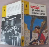 MJ054 La Vallée Des Brontosaures Par Henri VERNES In Marabout Junior - Une Aventure De Bob Morane - Books, Magazines, Comics