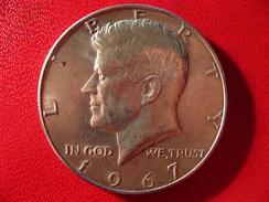 Etats-Unis - USA - Half Dollar Kennedy 1967 3468 - Federal Issues