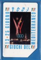 Telecom Italia °(4) -C&C. £ 15000 - Giochi Del Mediterraneo.   USATE  .vedi Descrizione. - Italy