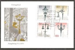 Berlin 1979 // Michel 603/606 // FDC - FDC: Sobres