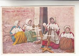 Postkaart, Folkloristische Kledij Costumi Sardi Bono, L'Arcolaio (pk31292) - Costumes