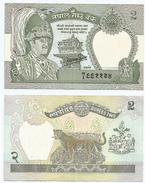 Nepal 2 Rupees 1985-90, Firma 11 Pick 29.c Ref 1209 - Nepal