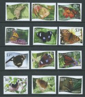 Tonga Niuafo'ou 2012 Butterfly Set Of 12 MNH - Tonga (1970-...)