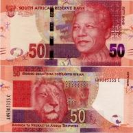 SOUTH AFRICA       50 Rand       P-135       ND (2012)       UNC - Afrique Du Sud